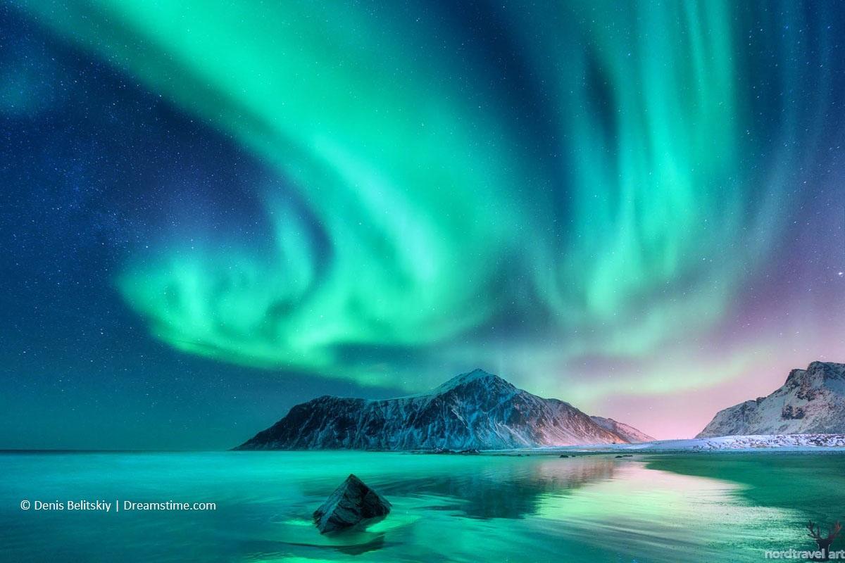 О Норвегии. Северное сияние. Лофотенские острова