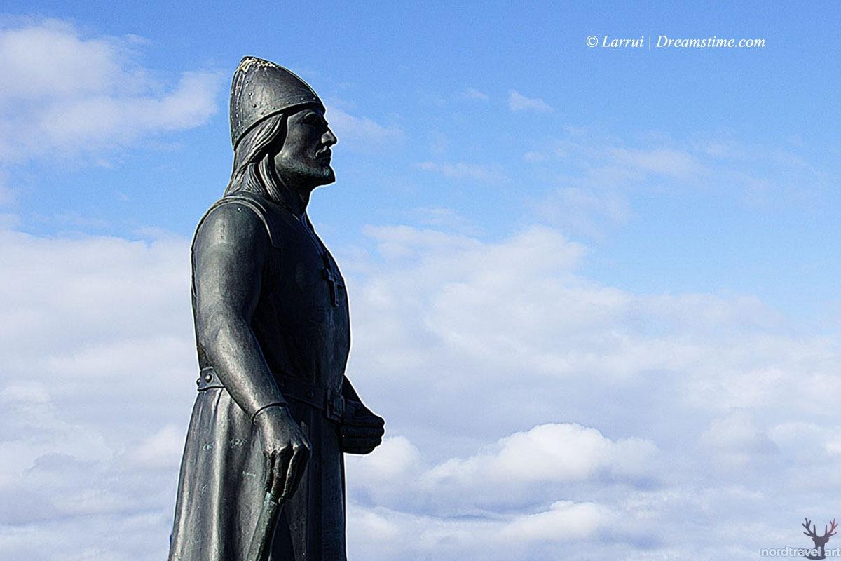 Эрик Рыжий. Памятник викингу в Гренландии