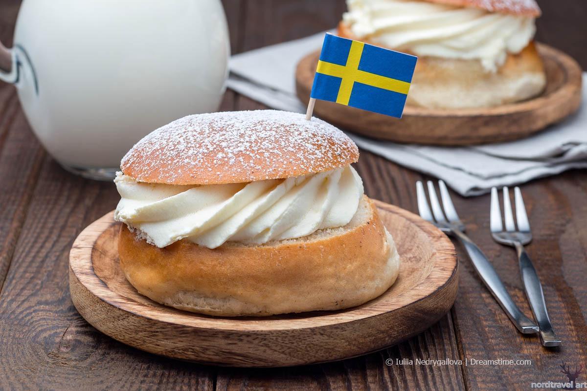 Современная шведская семла.