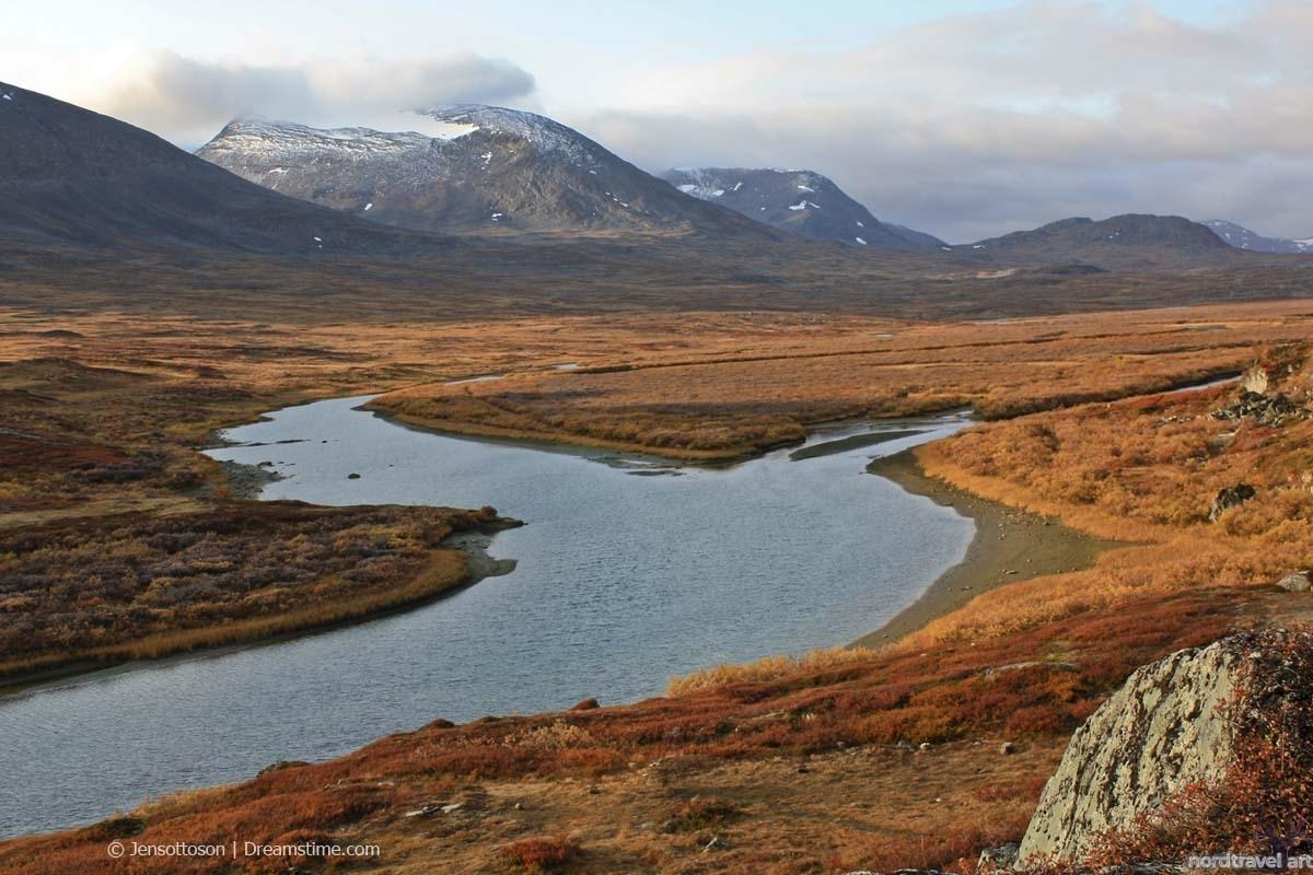 Национальный парк Абиску. Швеция. Лапландия. Северный Калотт.