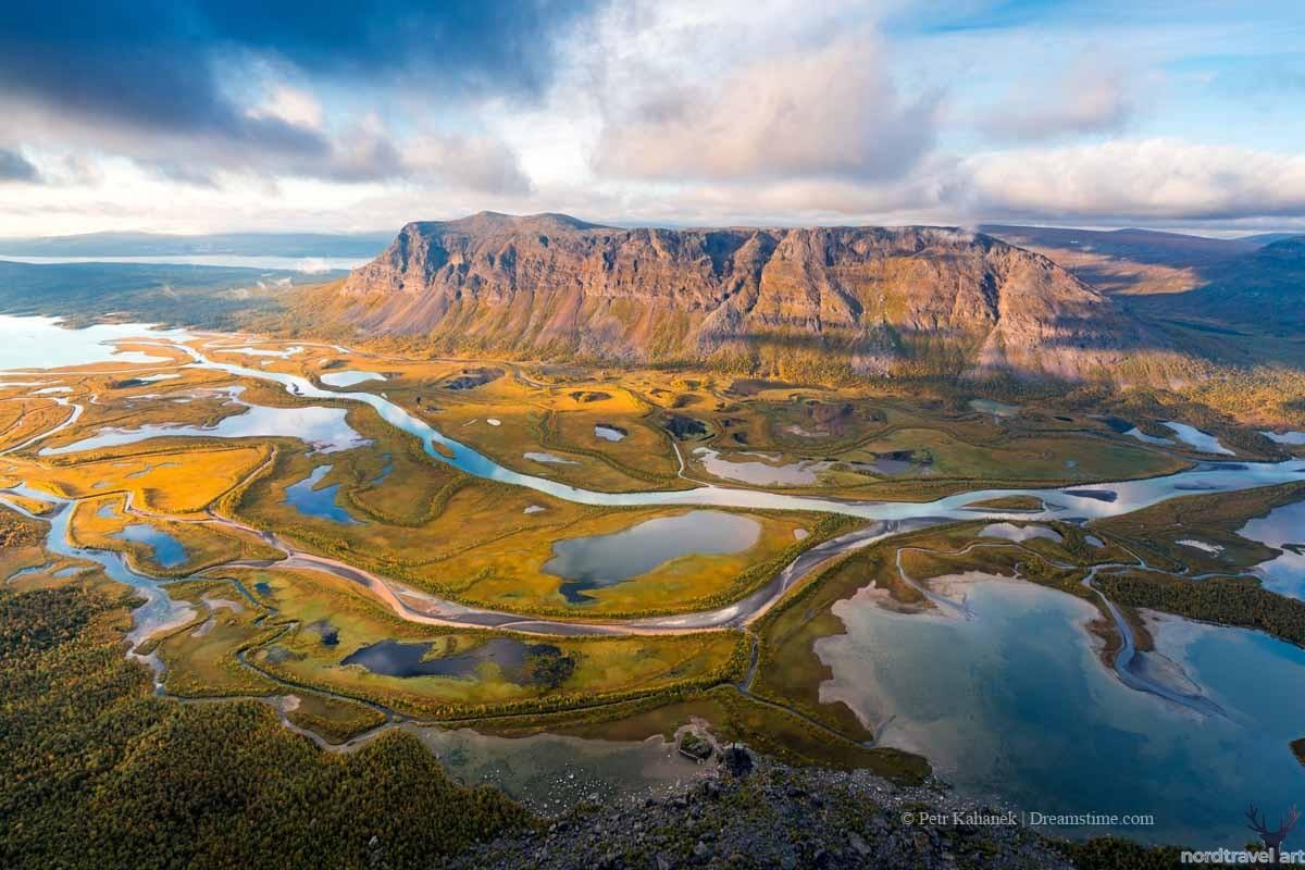 Национальный парк Сарек. Север. Фенноскандия. Скандинавия. Лапландия. Швеция